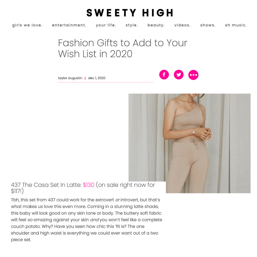 SWEETY HIGH: FASHION GIFTS TO ADD TO YOUR WISH LIST