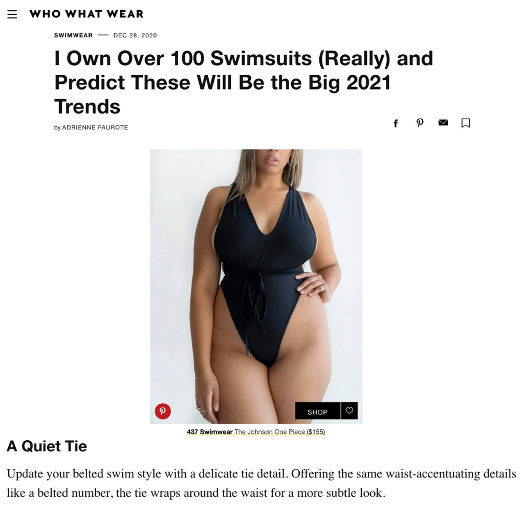 WHOWHATWEAR: 11 Swimwear Trends for 2021