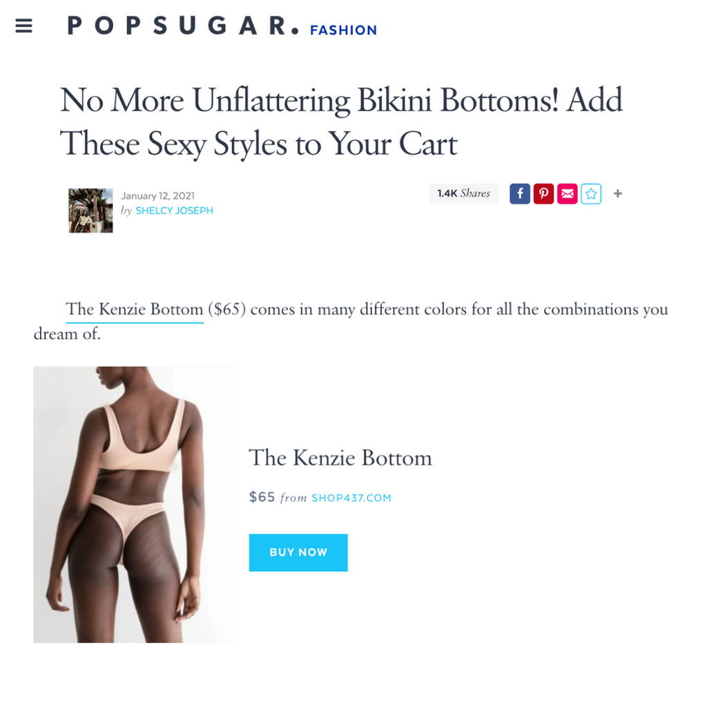 POPSUGAR: Best bikini bottoms for every butt