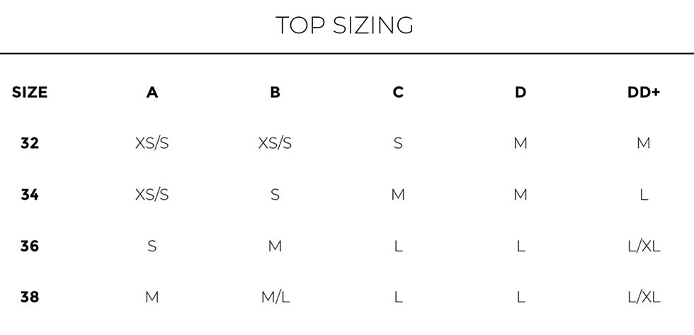 Top Sizing