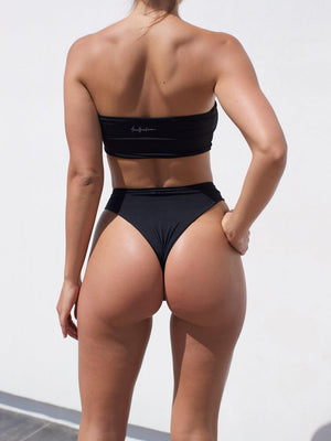 The Aubrey bikini bottoms in black