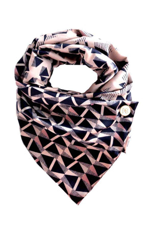 Pink Satin Scarf Angelica