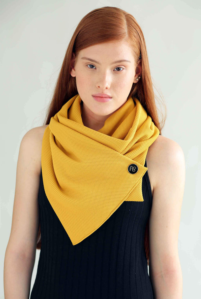 Special Mustard Scarf Annette
