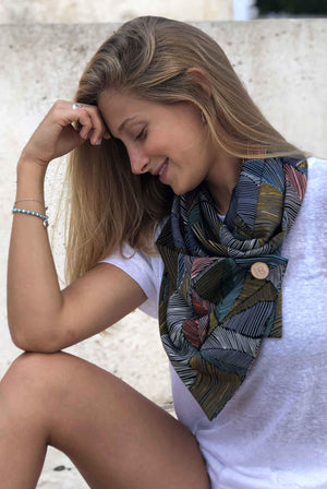 Colorful Scarf Caterina