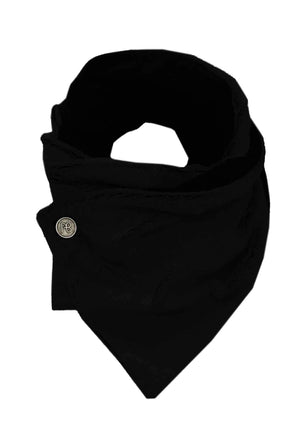 Black Winter Scarf Giesele
