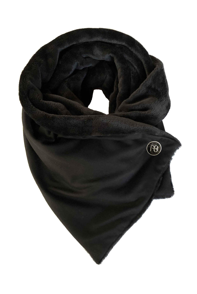 Men's Black Winter Scarf Giesele