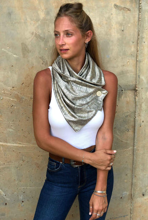 Urban Metalic Scarf Glory