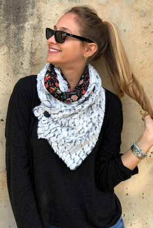 Double-sided Fur Scarf Madison