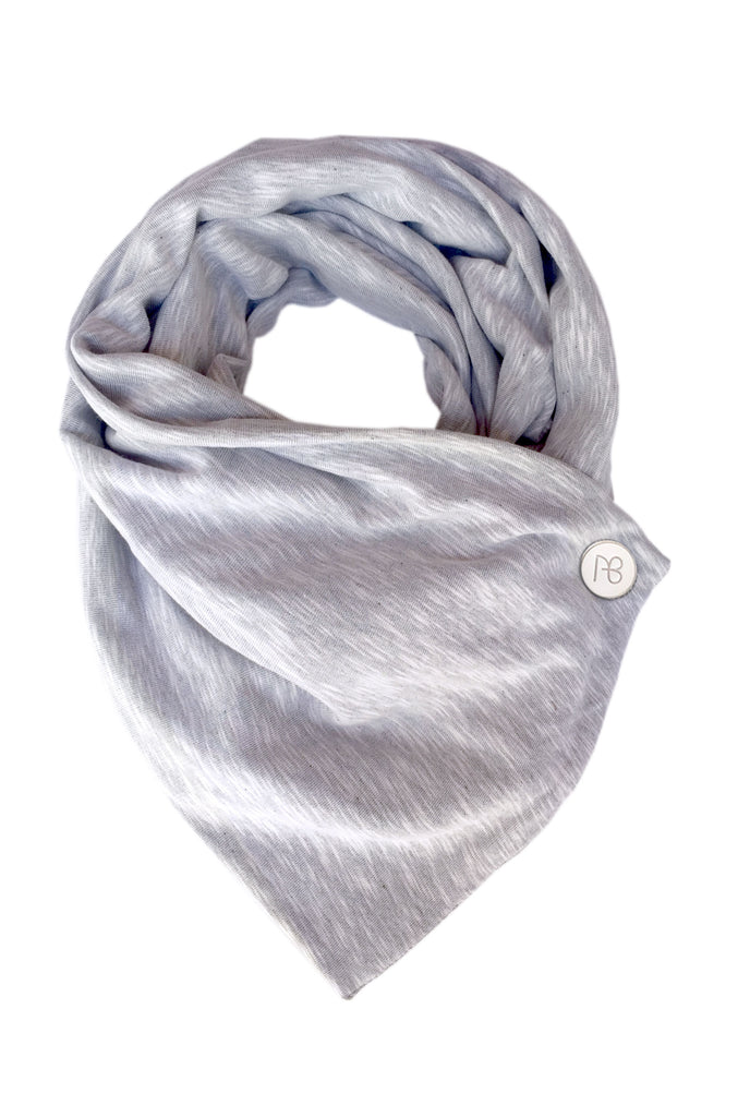 Grey Cotton Scarf Jemma