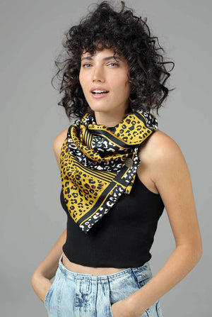 The perfect mustard scarf Jennifer