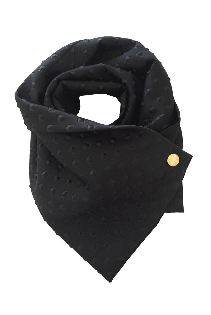 Studded Black Scarf Apollo