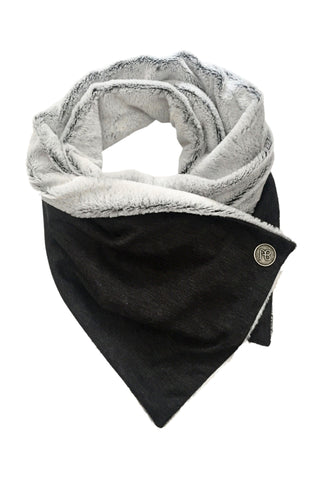 Double-Sided Fur Scarf Chiara