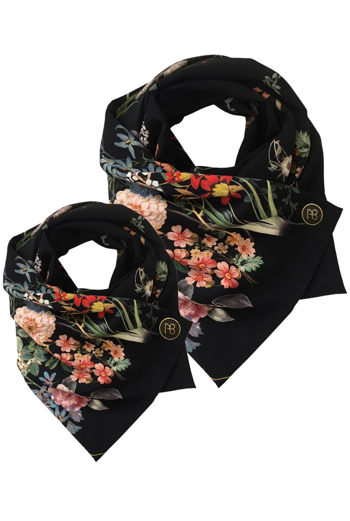Matching Floral Scarves Rona Minime