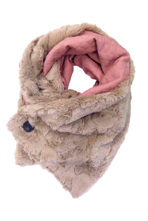 Double-sided Fur Scarf Adele