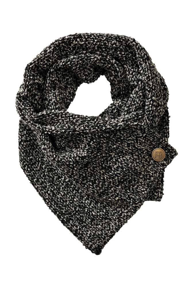 Grey Knitted Scarf Catania