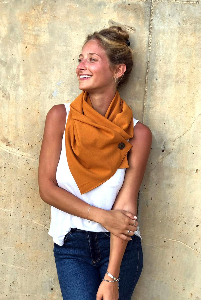 Perfect Missy Mustard Scarf
