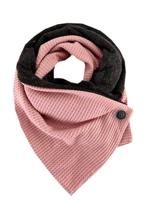 Double-Sided Knitted Scarf Nili