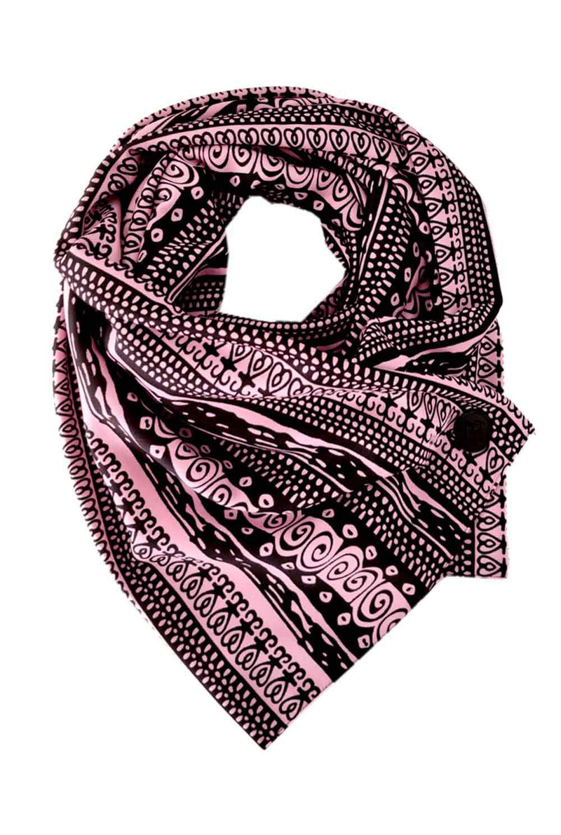 Pink Tribal Scarf Nona
