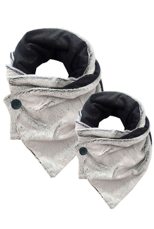 Matching Double-sided Fur Kids Scarf Perla