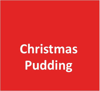 Small Christmas Pudding Scented Candle