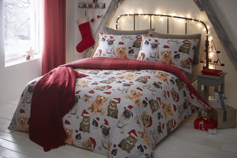 Festive Animals Christmas Bedding