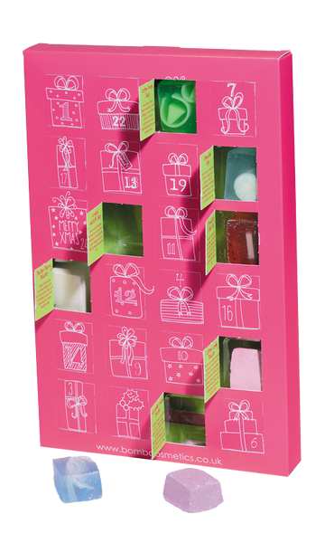 Bomb Cosmetics Pink Advent Calendar