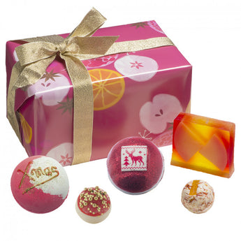 Bomb Cosmetics Winter Punch Wrapped Gift Box Set
