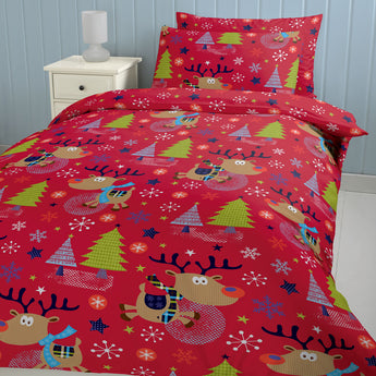 Christmas With Rudolph Christmas Bedding