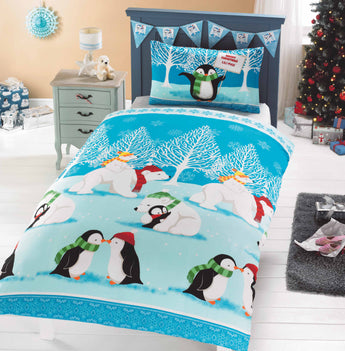 Kid's Christmas Cuddles Christmas Bedding