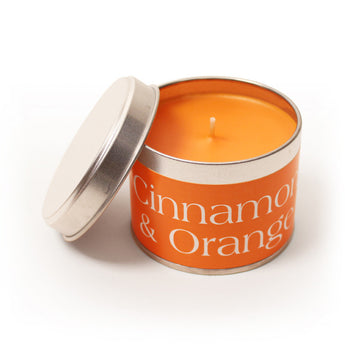 Cinnamon & Orange Scented Candles