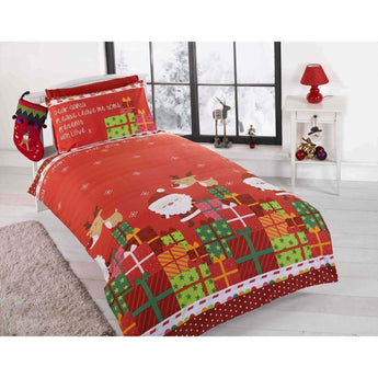 Kid's Dear Santa Christmas Bedding