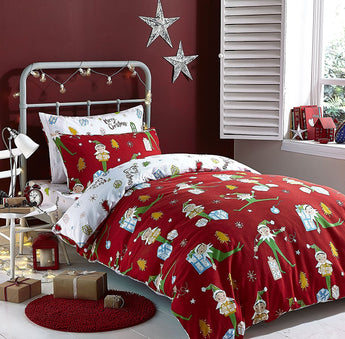 Elfie Christmas Bedding