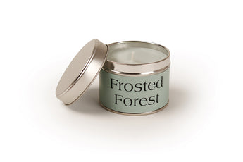 Small Frosted Forest Scented Candle