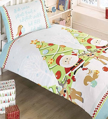 Kid's Christmas Tree Christmas Bedding