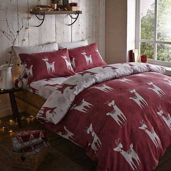 Nordic Deer Christmas Bedding
