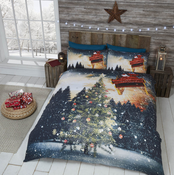 Northern Lights Christmas Bedding