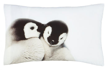 Brushed Snuggly Penguins Housewife Pillowcase Pair