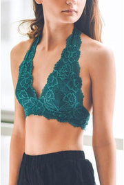 The Marilyn Bralette Teal - Paprika Belle