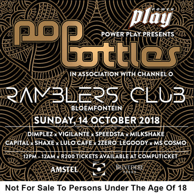 Pop Bottles Bloem
