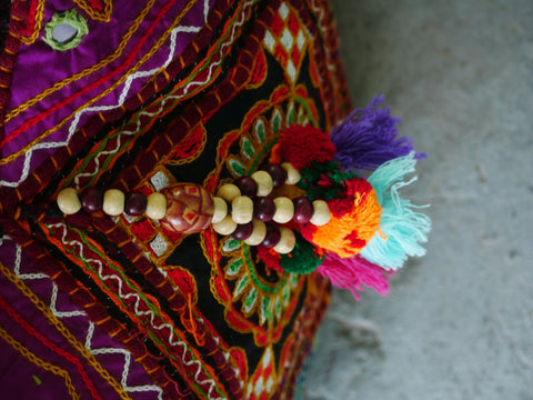 Festival bag - Patchwork bag - bohemian gypsy hobo bag
