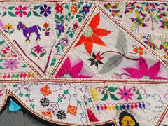 Banjara - toran - Gypsy curtain - hippie home decor - vintage tribal textile