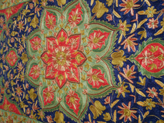 Kashmiri Magic carpet - Flower mandala area rug