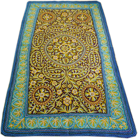 "Kashmiri ""Namda"" Wool rug 