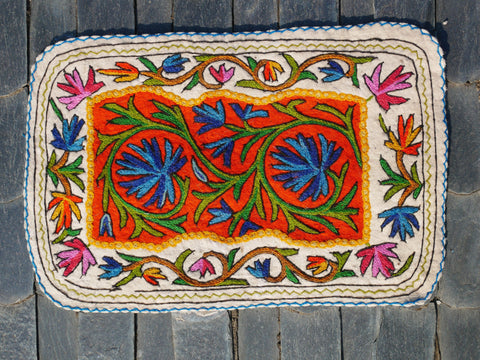 "Kashmiri ""Namda"" floor seating pad 