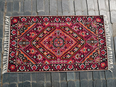 "Kashmiri wool rug ""Himalayan Spirit"" 