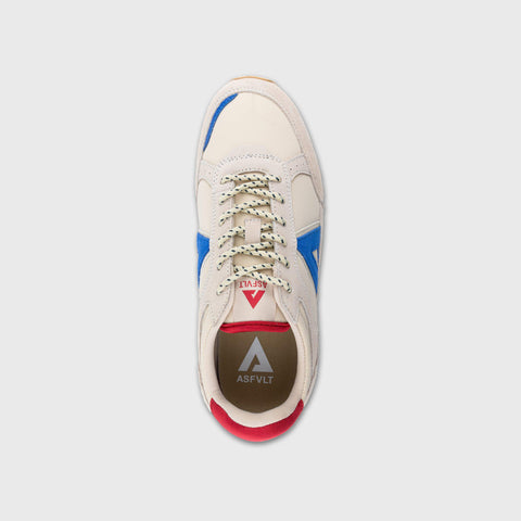 Chase - Sand Blue Red - Woman-Chase-Asfvlt-Asfvlt Sneakers Sko Norge