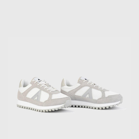 Chase - White Grey - Woman-Asfvlt Sneakers Norge