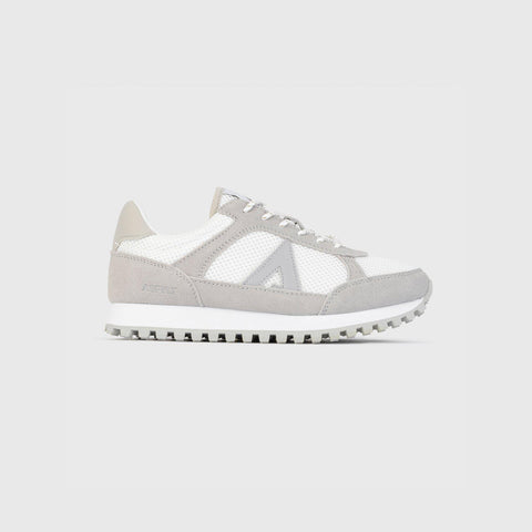 Chase - White Grey - Woman-Onset-Asfvlt-Asfvlt Sneakers Sko Norge