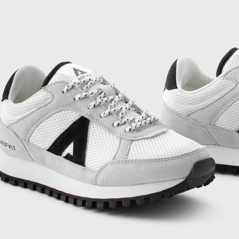 Chase - White Black - Woman-Asfvlt Sneakers Norge