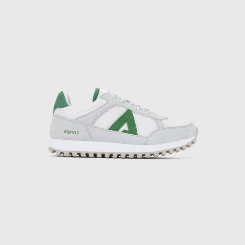 Chase - White Green - Woman-Asfvlt Sneakers Norge